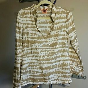 Tory Burch sequined blouse